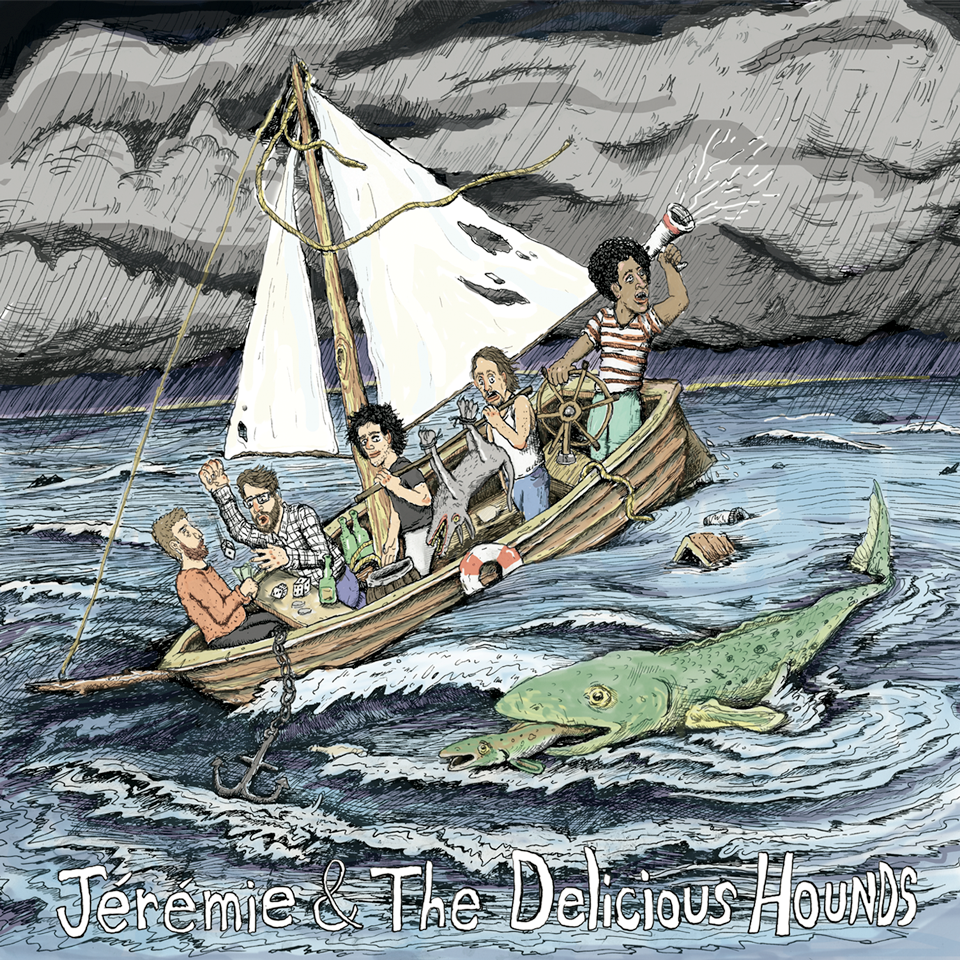 Jérémie & The Delicious Hounds - EP