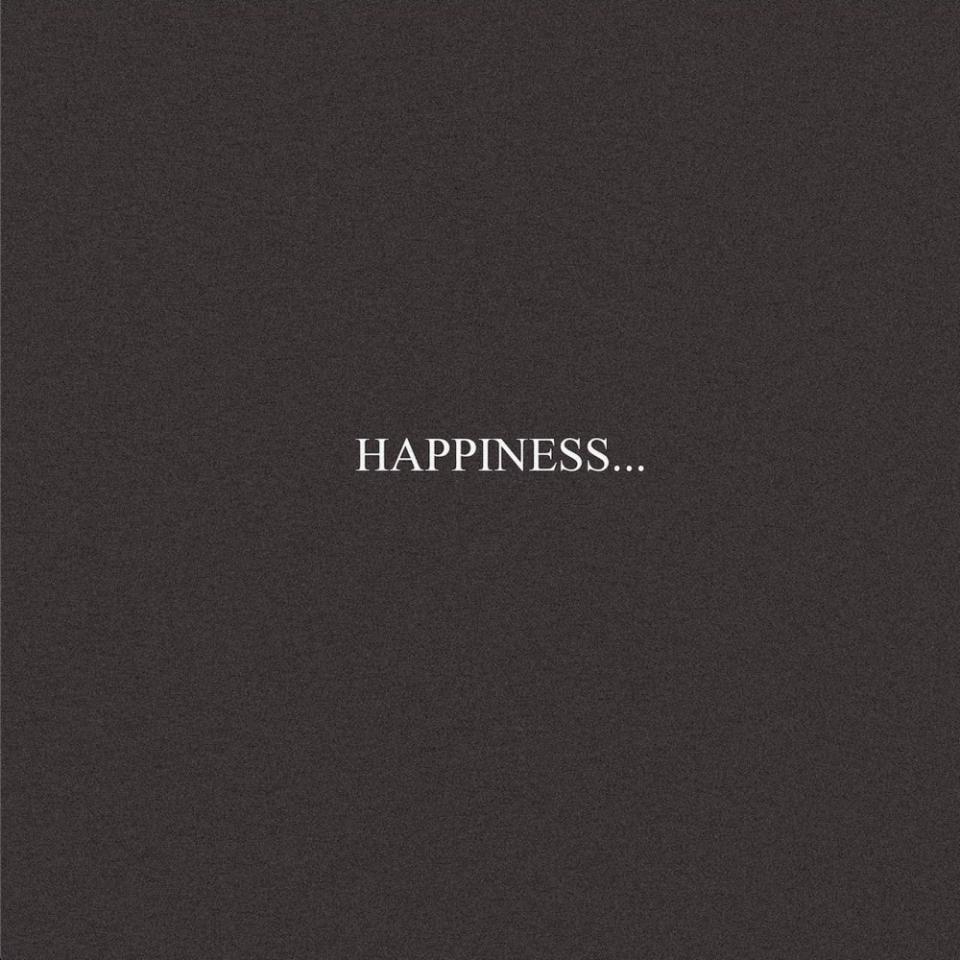 Happiness. - Single