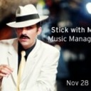 Stick with Me Kid: Music Management Panel
