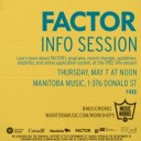 FACTOR Info Session
