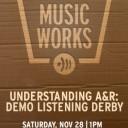 UNDERSTANDING A&R: Demo Listening Derby