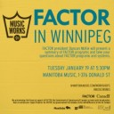 FACTOR in Winnipeg
