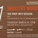 Tax Prep Info Session