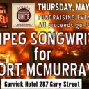 Winnipeg Songwriters For Fort McMurray