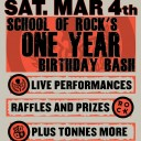 School of Rock Winnipeg's One Year Birthday