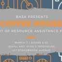 Coffee House Fundraiser