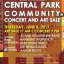 Central Park Community Concert and Art Sale