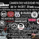 Canada Day Weekend Music Festival