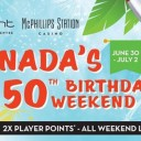 Canada's 150th Birthday Weekend