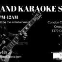 Live Band Karaoke Social