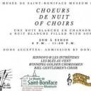 Nuit Blanche: Choeurs de Nuit / Nuit of Choirs