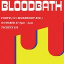 Synthetic Bloodbath: Send + Receive Halloween Fundraiser