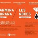 USingers Presents: Carmina Burana/Les Noces