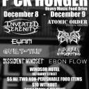 Third Annual F*CK Hunger Heavy Music Food Drive Night 1