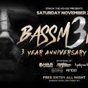 Bassment 3 Year Anniversary
