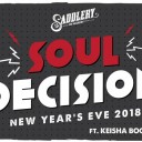 NYE 2018 at Saddlery
