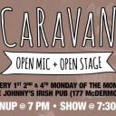 Caravan Open Mic + Open Stage