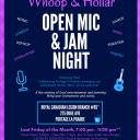 The Whoop & Hollar Open Mic & Jam Night