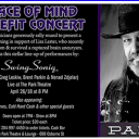 Peace of Mind Benefit Concert