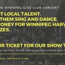 Winnipeg Glee Club '18: A Benefit Concert for Winnipeg Harvest