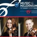 Music at the Millennium   Julie Savard & Darryl Strain / Duo violin