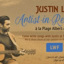 Songwriting workshops with Justin Lacroix