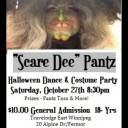 Scare Dee Pantz Halloween Dance & Costume Party