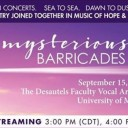 Mysterious Barricades Concert