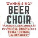 Winnipeg Beer Choir