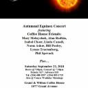 Autumnal Equinox Concert