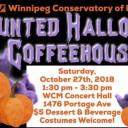 Haunted Halloween Coffeehouse