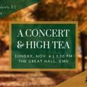 A Concert & High Tea