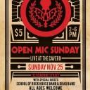 Open Mic Sundays