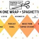 Paper Cut Fundraiser