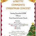 Lorette Community Christmas Concert