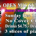 Open Mic Sundays