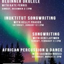 Winter Workshop Series - Songwriting