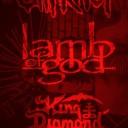 Slipknot, Lamb of God, King Diamond Tribute Night
