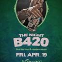 The night B 420 event