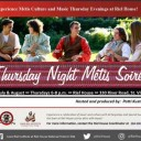Thursday Night Metis Soiree