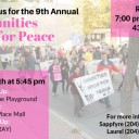 9th Annual Communities March for Peace