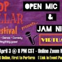 Virtual Open Mic & Jam Night