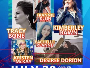 Manitoba Indigenous Ladies of Country Music Night