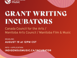 Info Session: Manitoba Arts Council Indigenous 360