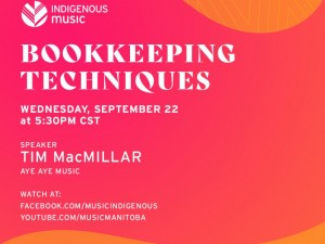 ON TRACK Indigenous Music Business Basics | Bookkeeping Techniques