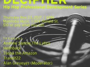 Decipher: Hip Hop Professional Development Series | Session 1