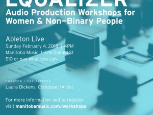 Equalizer: Audio Production Workshops for Women & Non-Binary People | Intro to Ableton Live
