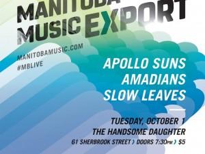 Manitoba Music Export