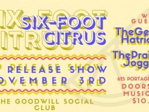 Six-Foot Citrus EP Release