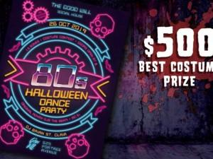 80's Halloween Dance Party